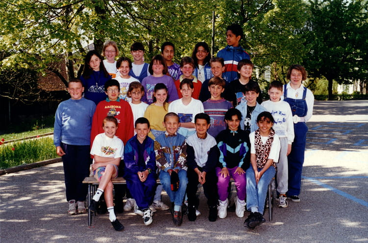 Photo de classe cm2 de 1996 ecole le jura saint genis - Office du tourisme saint genis pouilly ...