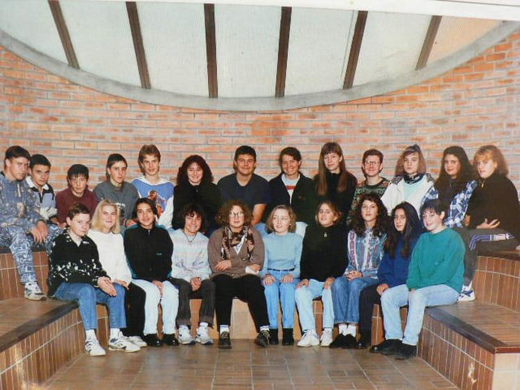Photo de classe 3 u00e8me de 1994, COLLEGE ALFRED KASTLER   Copains d u0026#39;avant