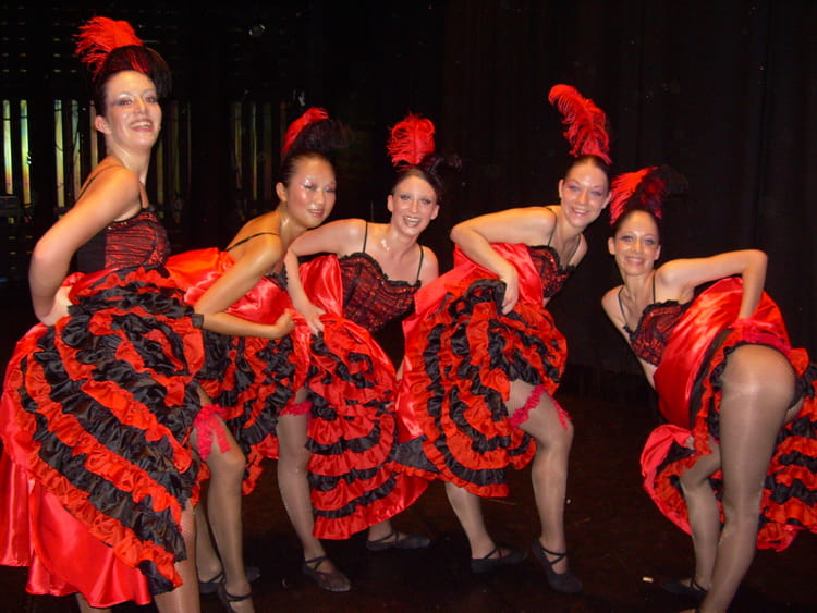 photo de classe french cancan de 2007  acdac
