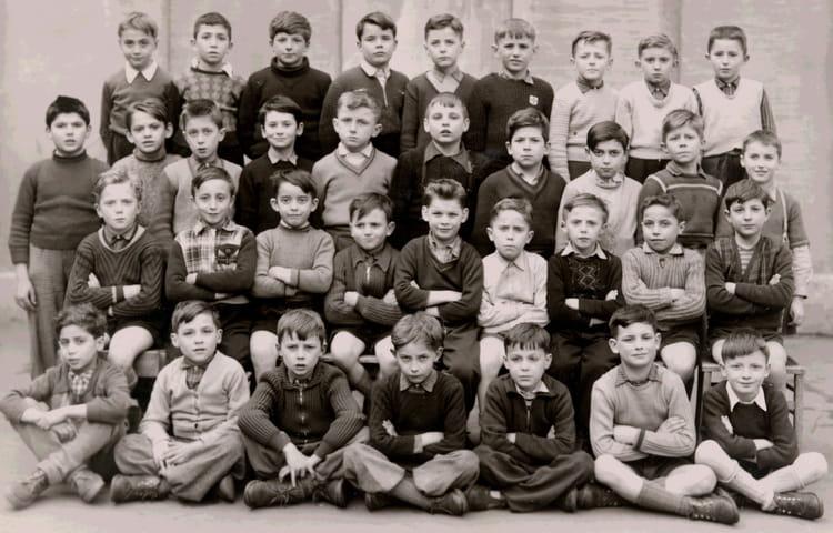 photo de classe 9 232 me ancienne appel de 1954 lyc 233 e jean baptiste de la salle copains d avant