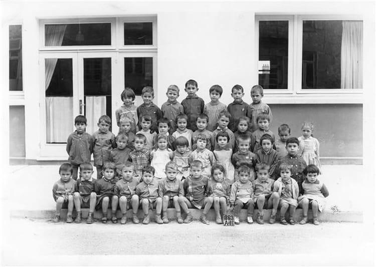 photo de classe cp cole de la rhode jean mac de 1964 ecole groupe scolaire jean mace gueret. Black Bedroom Furniture Sets. Home Design Ideas