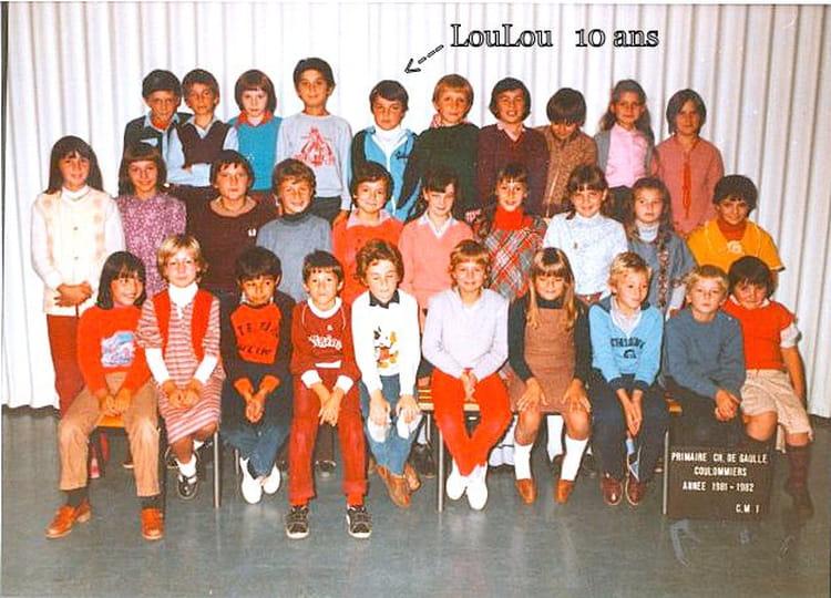Photo de classe cm 1 1981 1982 instituteur mr - Mr bricolage coulommiers ...
