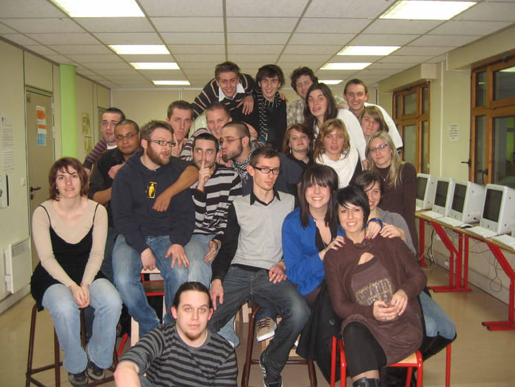 photo de classe cv1 de 2007  efficom