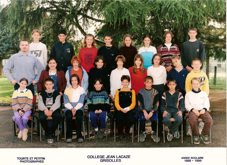 photo de classe 5 med de 1998 coll ge jean lacaze