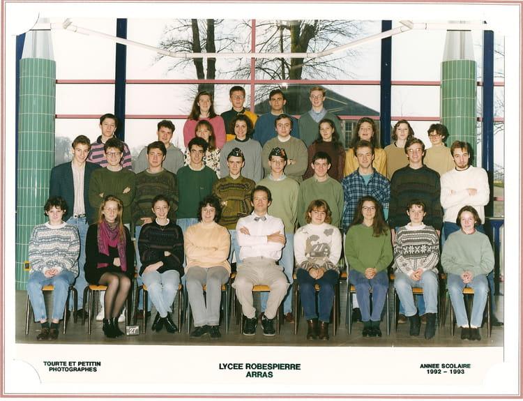 1993 , Math spé bio , Cpge lycée robespierre