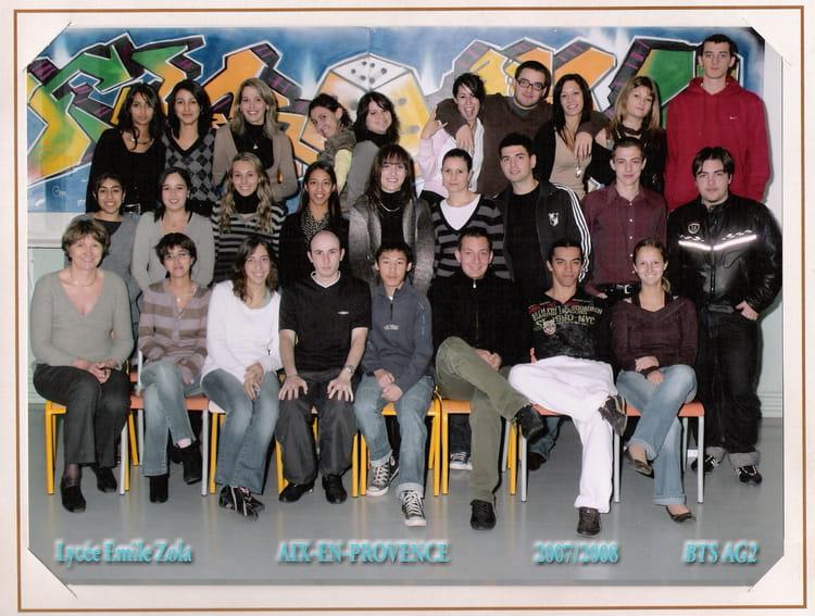Photo De Classe Bts Ag 2eme Ann 233 E De 2008 Lyc 233 E Emile