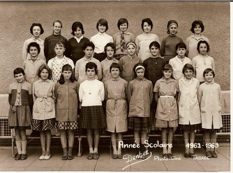 Photo de classe pontbichet de 1962 ecole jean mace - Cours de cuisine villefranche sur saone ...