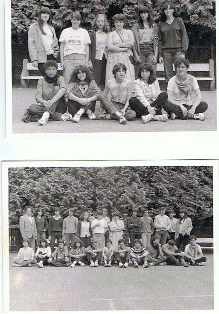 Photo de classe 3 me a coll ge jardin des plantes poitiers de 1981 coll ge du jardin des - College du jardin des plantes poitiers ...