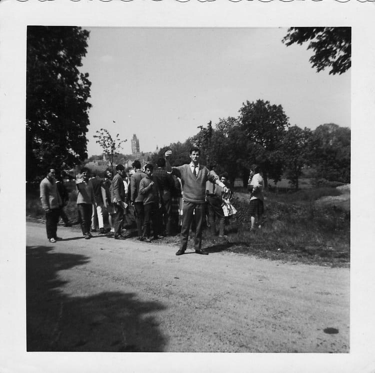 Photo de classe lyc e de verneuil sur avre 5 me de 1960 lyc e porte de normandie copains d 39 avant - Lycee porte de normandie verneuil sur avre ...
