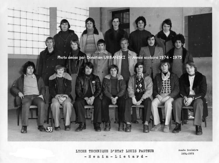 photo de classe 1bmb lyc e louis pasteur h nin beaumont de 1975 pasteur copains d 39 avant. Black Bedroom Furniture Sets. Home Design Ideas