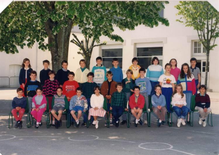 Photo de classe cm1 de 1987 ecole jean roy la roche sur - Cours cuisine la roche sur yon ...