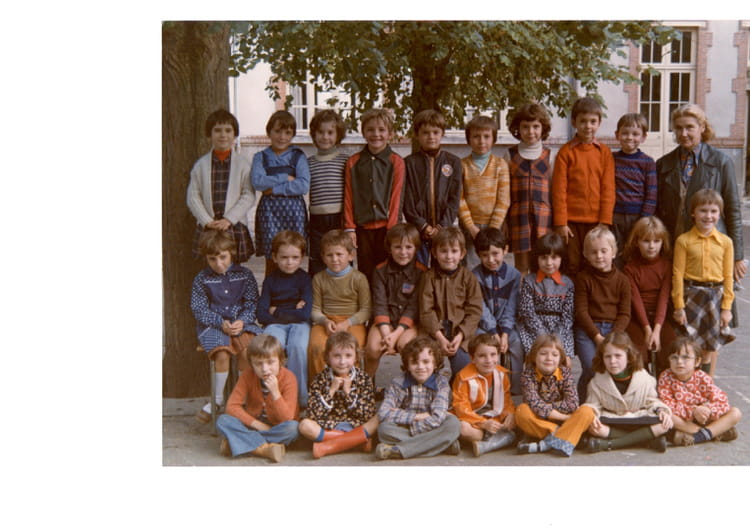 photo de classe ce 1 ou ce2 de 1977 ecole du general de. Black Bedroom Furniture Sets. Home Design Ideas