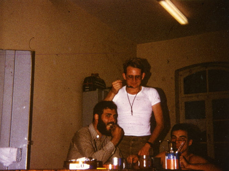 Photo de classe repas entre amis caserne rapp en 1978 de for Idee repas entre copain
