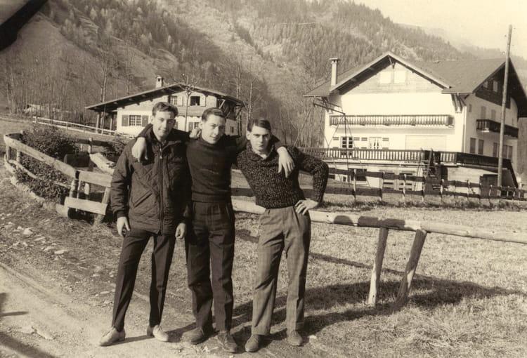 photo de classe vacance en montagne de 1961 usinor trith st l ger copains d 39 avant. Black Bedroom Furniture Sets. Home Design Ideas