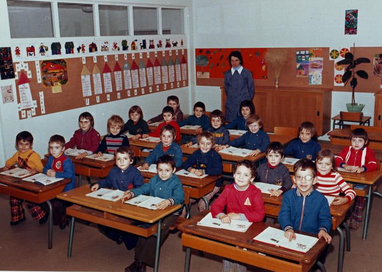 Photo de classe cour pr paratoire de 1975 ecole gourgan for Cours de cuisine rodez