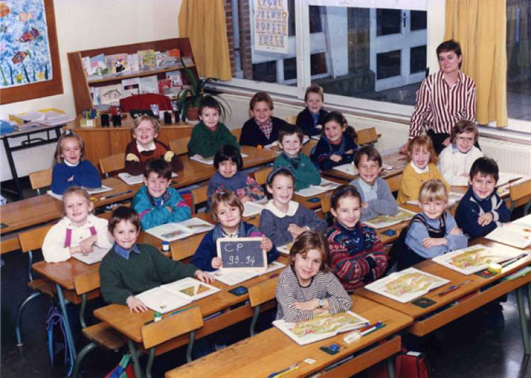 photo de classe cp de 1993 ecole claude debussy copains d 39 avant. Black Bedroom Furniture Sets. Home Design Ideas