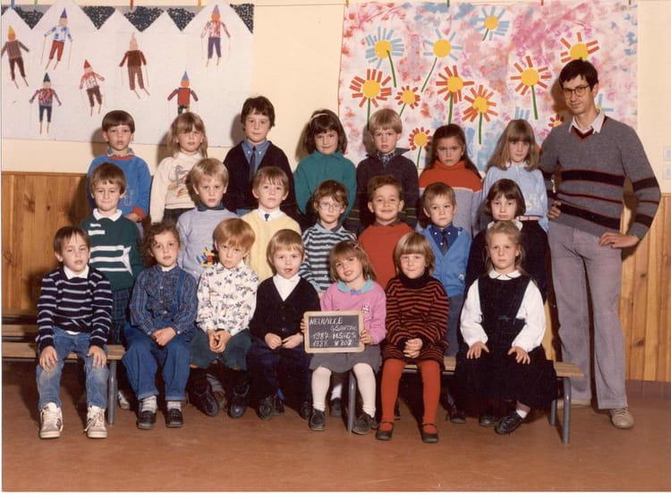 photo de classe maternelles moyenne section de 1987 ecole primaire de neuville neuville sur. Black Bedroom Furniture Sets. Home Design Ideas
