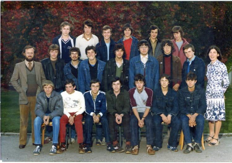photo de classe 2 bemm de 1981 lyc 233 e professionnel des deux caps copains d avant