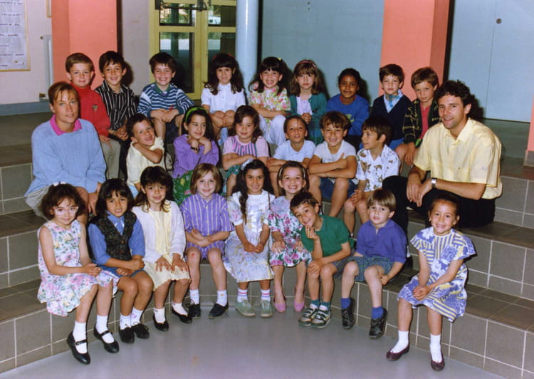 photo de classe cp de 1990 ecole jean monnet saint jean. Black Bedroom Furniture Sets. Home Design Ideas