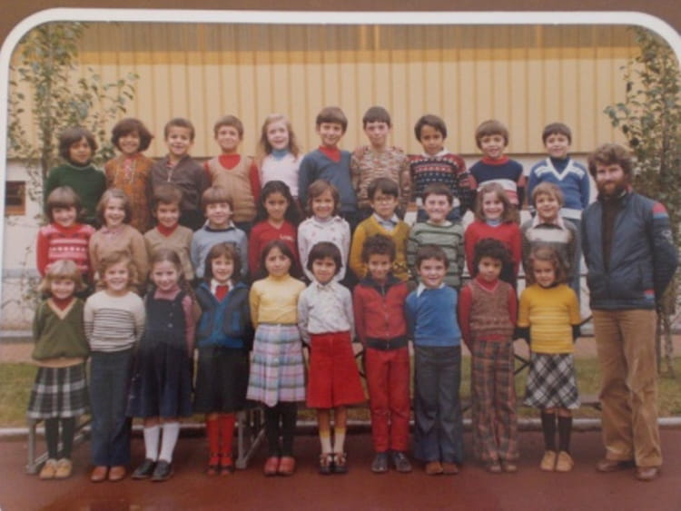 photo de classe ce1 de 1979 ecole ferdinand buisson villefranche sur saone copains d 39 avant. Black Bedroom Furniture Sets. Home Design Ideas