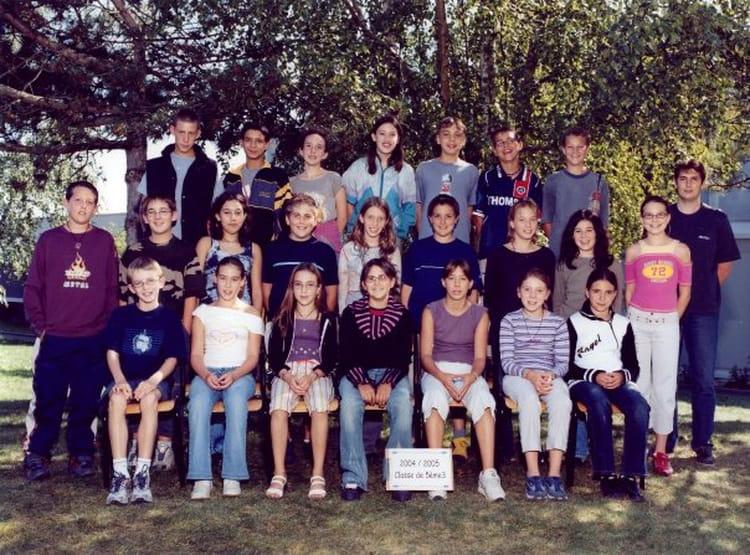 photo de classe 4eme de 2005 coll 232 ge porte d anjou copains d avant