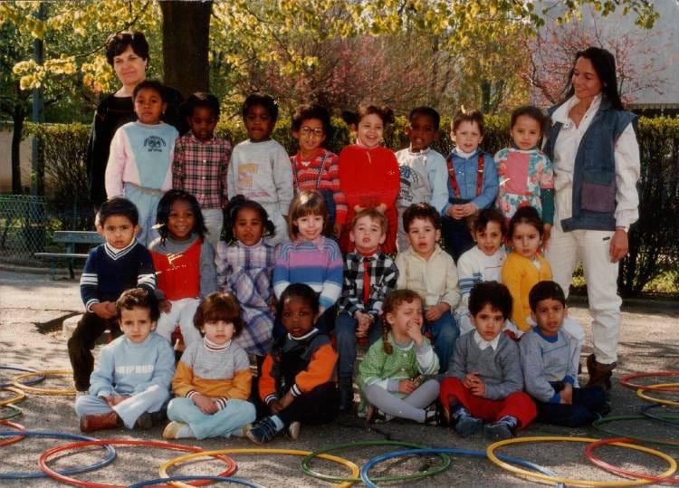 de Maternelle19841985MerisierAulnaysousBois  Ecole merisier ~ Cours D Arabe Aulnay Sous Bois