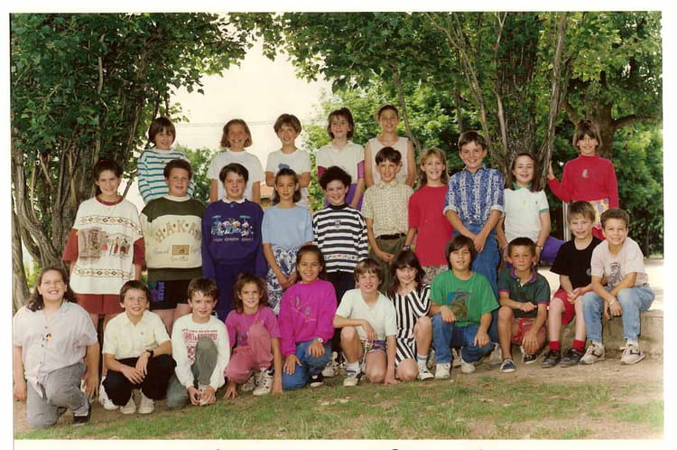 photo de classe cm1 cm2 de 1991 ecole cherbuet saint vincent de boisset copains d 39 avant. Black Bedroom Furniture Sets. Home Design Ideas