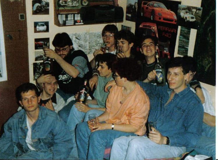 photo de classe foyer du jeune travailleur st etienne de 1992 foyer jeunes travailleurs. Black Bedroom Furniture Sets. Home Design Ideas