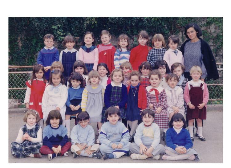 photo de classe maternelle 2 me ann e de 1984 ecole marie immaculee libourne copains d 39 avant. Black Bedroom Furniture Sets. Home Design Ideas