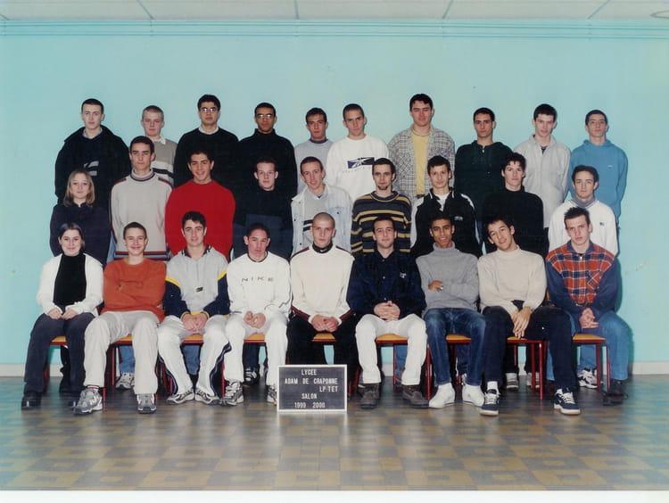 Photo de classe craponne 2 me ann e bep 1999 2000 de 1999 - Lycee craponne salon ...
