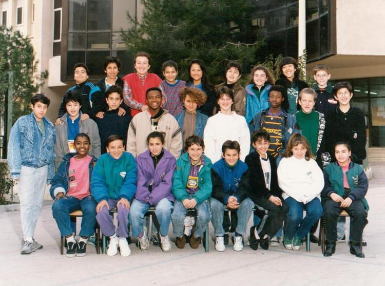 photo de classe 5 eme de 1988 coll 232 ge vieux port copains d avant