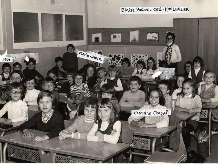 photo de classe ce2 blaise pascal gagny de 1971 ecole. Black Bedroom Furniture Sets. Home Design Ideas
