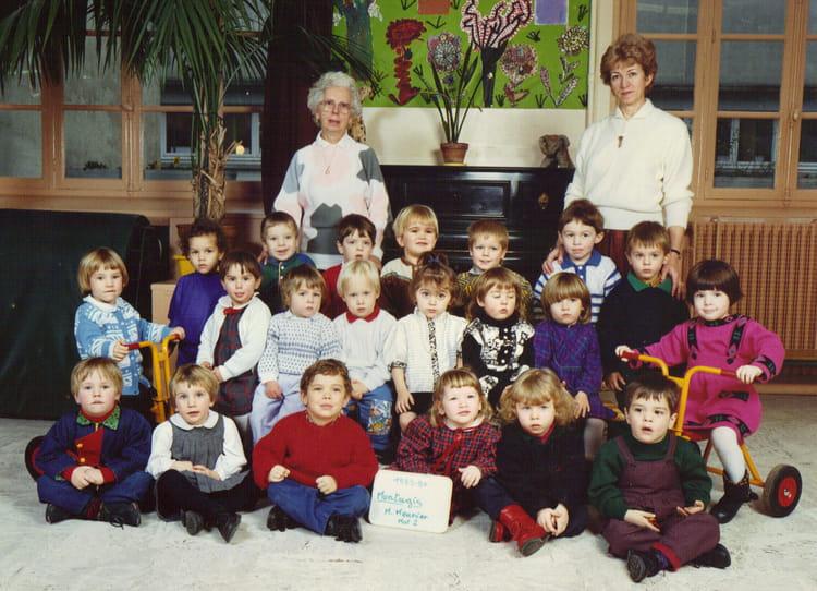 photo de classe maternelle 2 de 1989 ecole maurice meunier montargis copains d 39 avant. Black Bedroom Furniture Sets. Home Design Ideas
