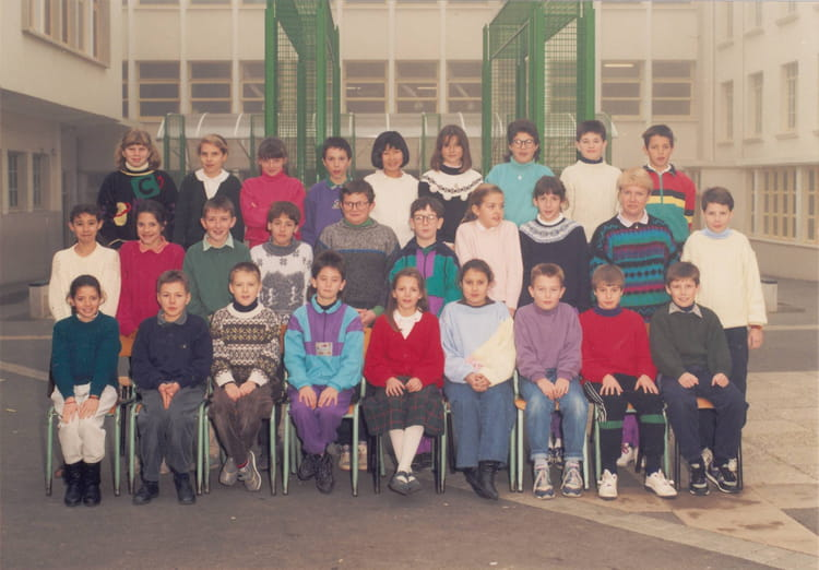 Photo de classe cm2 1990 1991 de 1990 ecole saint louis - Cours cuisine la roche sur yon ...
