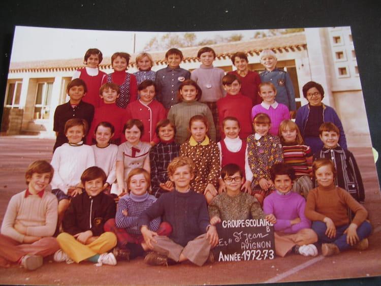 Photo de classe ce 2 st jean b avignon de 1972 ecole - Ecole de decoration avignon ...