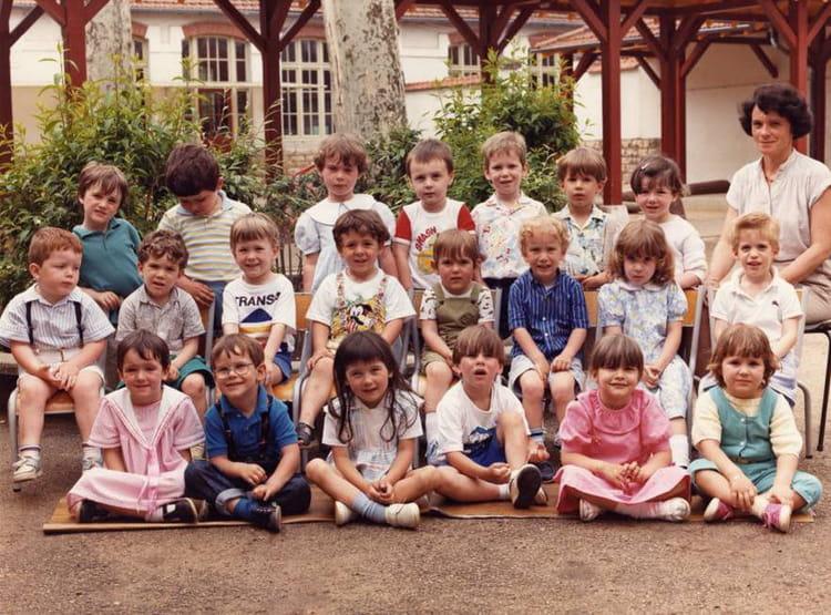 photo de classe 1 ann e maternelle 1985 1986 de 1986 ecole la citadelle chalon sur saone. Black Bedroom Furniture Sets. Home Design Ideas