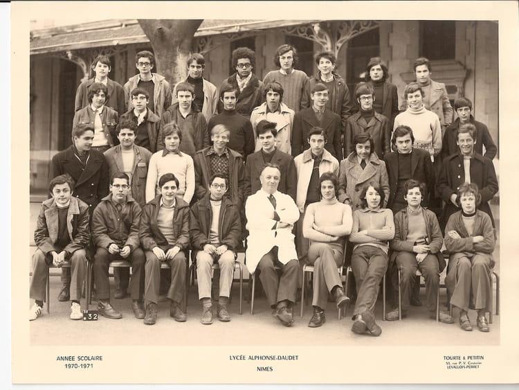 Photo de classe classe de 3 de 1970 lyc e alphonse for Lycee alphonse daudet