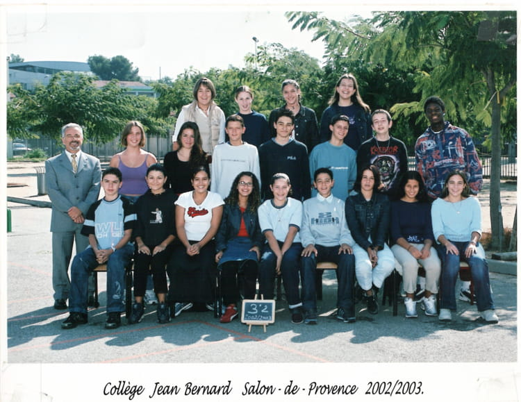 Photo de classe 3e2 de 2002 coll ge jean bernard - College jean moulin salon de provence ...