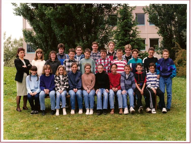 Photo de classe 5ème F de 1995, Collège Bois Franc  Copains davant ~ College Bois D Orceau