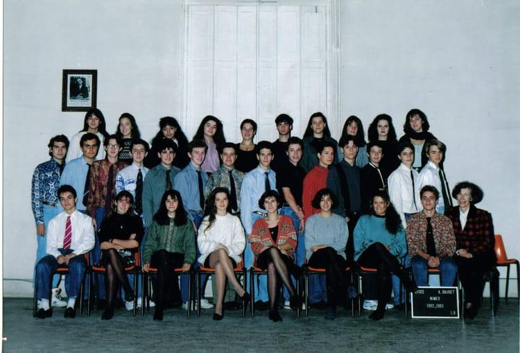 Photo de classe 1e8 1992 de 1992 lyc e alphonse daudet for Lycee alphonse daudet