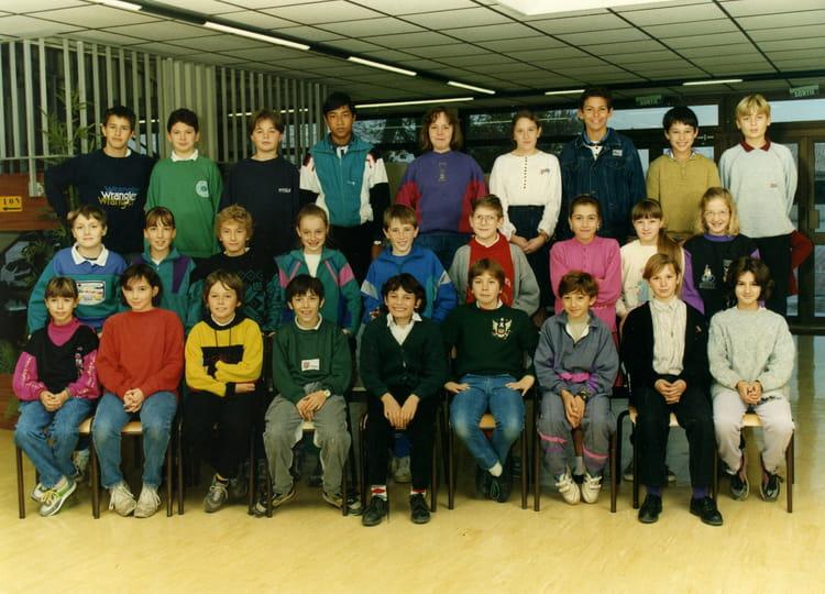 photo de classe 6 232 me6 de 1990 coll 232 ge porte du m 233 doc copains d avant