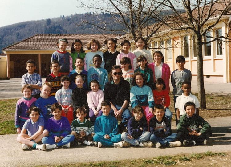 photo de classe cm1 1990 1991 de 1991 ecole du quebec montreal la cluse copains d 39 avant. Black Bedroom Furniture Sets. Home Design Ideas