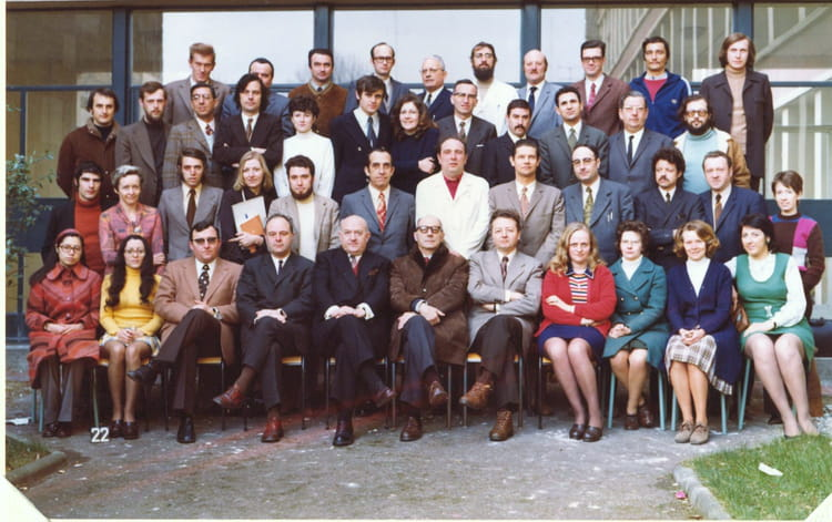 1972 , Personnels enseignants et administration , Lycee robespierre arras