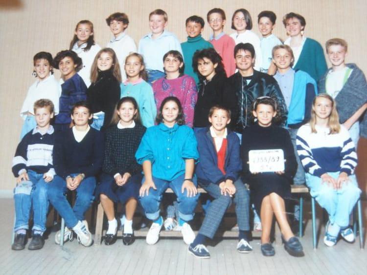 photo de classe maisons laffitte 5eme 6 de 1988 coll 232 ge jean cocteau copains d avant