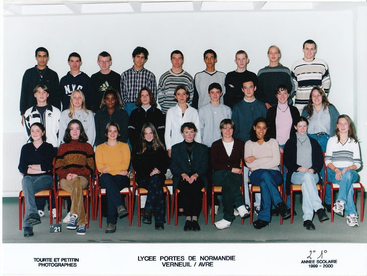Photo de classe premiere s 1999 2000 de 1999 lyc e porte de normandie copains d 39 avant - Lycee porte de normandie verneuil sur avre ...