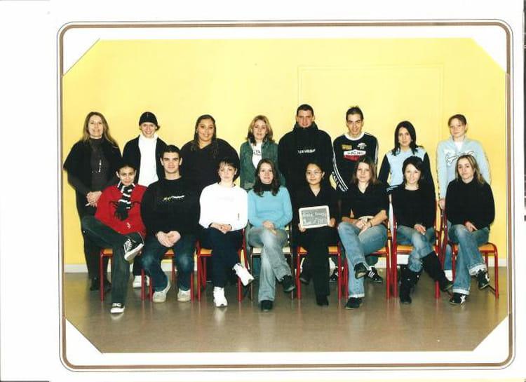 Photo de classe bac pro commerce de 2004 lyc e - Lycee craponne salon ...