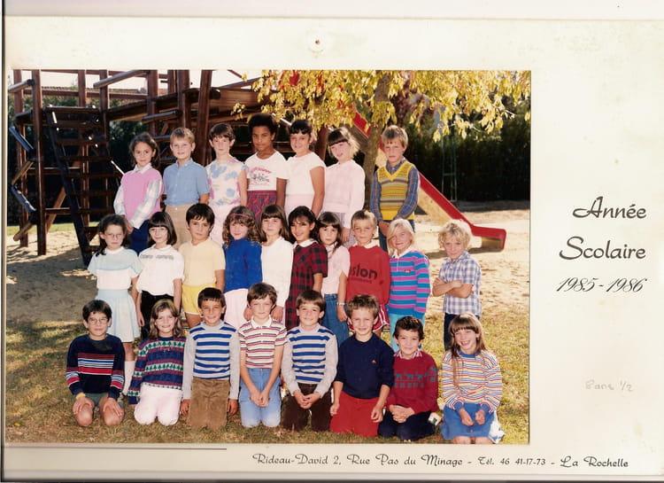 Photo de classe ce2 de 1986 ecole montjoie la roche sur - Cours cuisine la roche sur yon ...