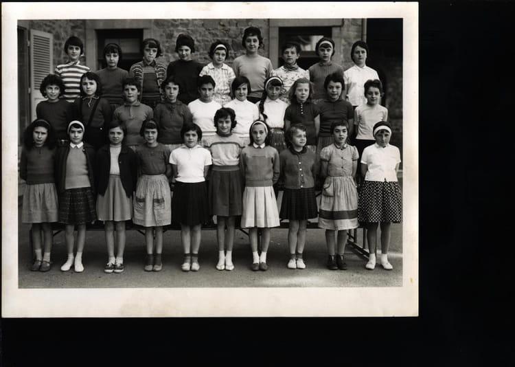 photo de classe melle chapon de 1962 ecole charles cours la ville copains d avant