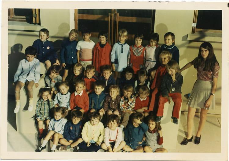 photo de classe maternelle de 1972 ecole le capitou copains d 39 avant. Black Bedroom Furniture Sets. Home Design Ideas
