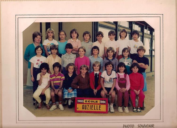 Photo De Classe 83 84 Cm1 Auzielle De 1984 Ecole Primaire Auzielle